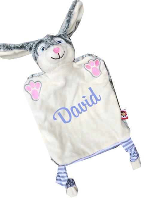 Comforter Bunny Cubbie  - Personalised
