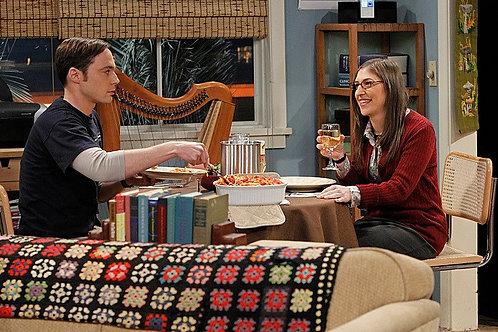 Big Bang Theory Granny Square Throw