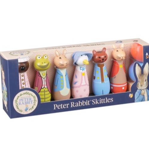Peter Rabbit Skittles - Wooden Game