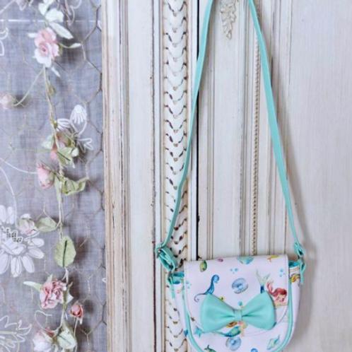 Mermaid Print Mini Handbag