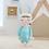 Thumbnail: Meetoo© Plush Turquoise Bunny – PERSONALISED