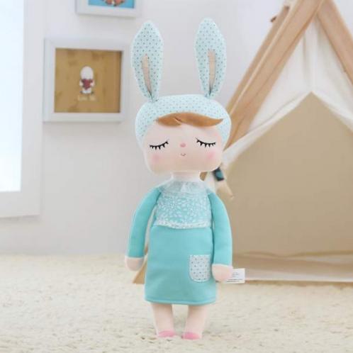 Meetoo© Plush Turquoise Bunny – PERSONALISED