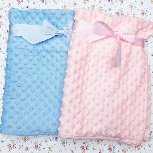 Soft Dimple Baby Fleece Blanket - Personalised