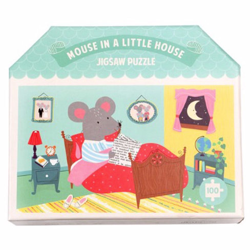 100 Piece Mouse in a House Puzzle