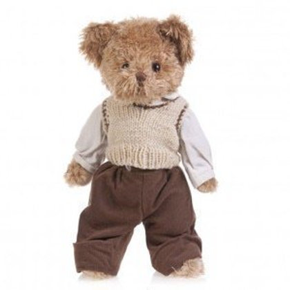 Vintage Inspired Luxury Boy Teddy - PERSONALISED