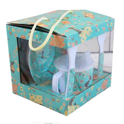 Babies Mouse Print Melamine Set