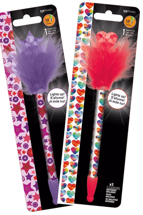 Funky Light Up Pens - Personalised Gift Wrap