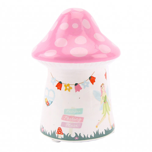 Toadstool - Fairy Money Bank - GIFT BOXED