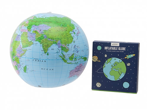 Blow Up Inflatable Globe - Gift Boxed