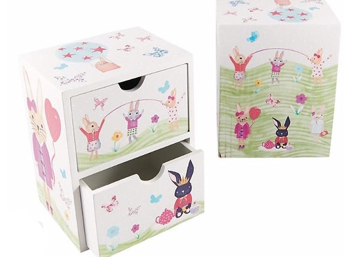 Bunny themed Keepsake Box