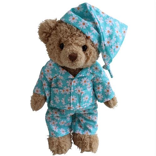 Daisy Blue Teddy - PERSONALISED