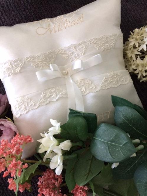 Wedding Ring Bearers Cushion