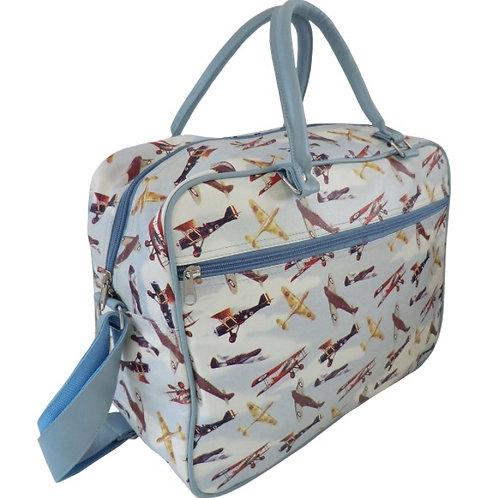 Vintage Aeroplane Travel Bag