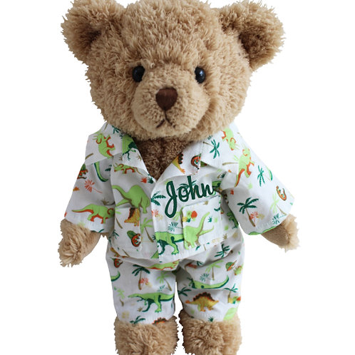 Dinosaur Teddy Bear - PERSONALISED