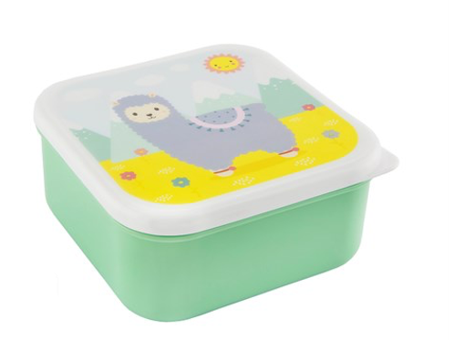 Little Llama Lunch Box with Lid