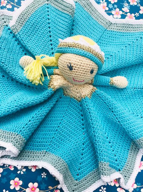 Little Elsa Comforter - HANDMADE