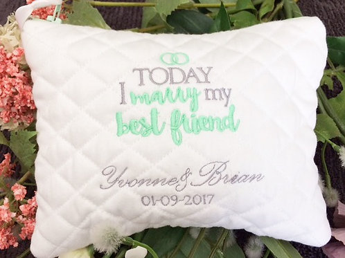 Bridal Zipped Accessory Wallet - Personalised