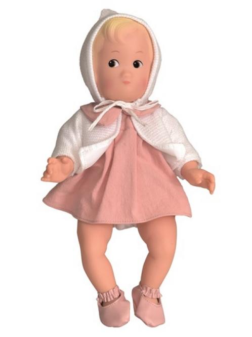 White Vintage / Retro Style Doll - Personalis