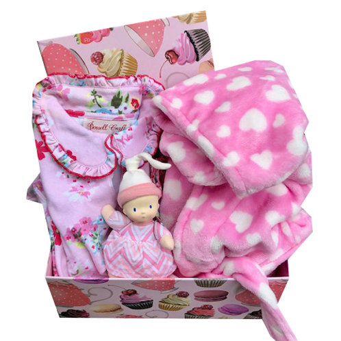 Pink Baby Gift Box - Personalised