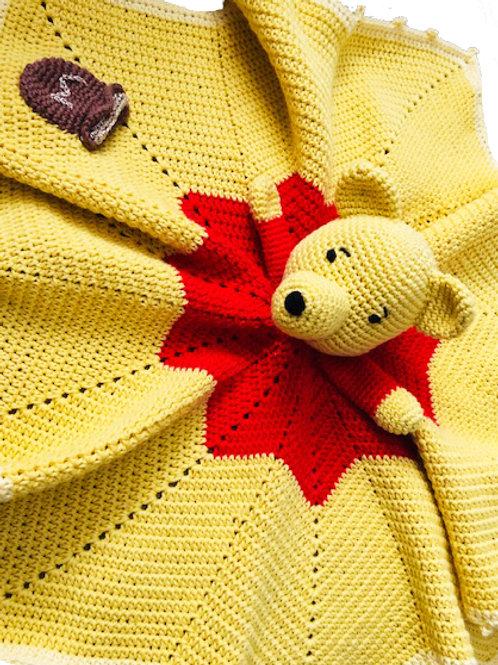 Little Winnie Comforter - HANDMADE