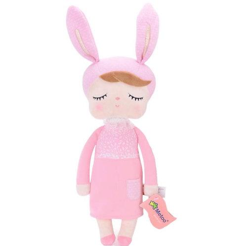 Meetoo© Plush Pink Bunny – PERSONALISED
