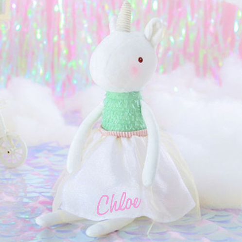 Extra Large Unicorn Doll 53cm - PERSONALISED