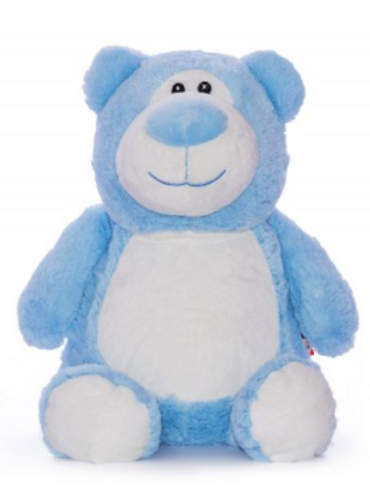 Blue Cubbie Teddy - PERSONALISED