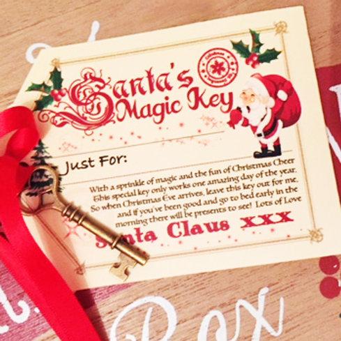 Santa's Magic Key - Personalised