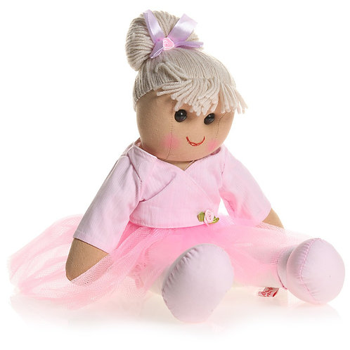 Pink Ballerina Ragdoll in Tutu – PERSONALISED