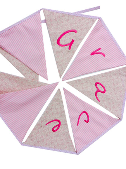 Personalised Cotton Bunting