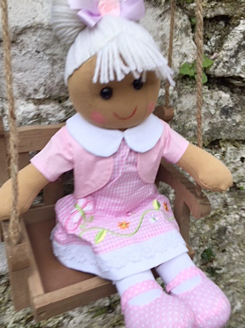 Pink Butterfly Ragdoll – PERSONALISED