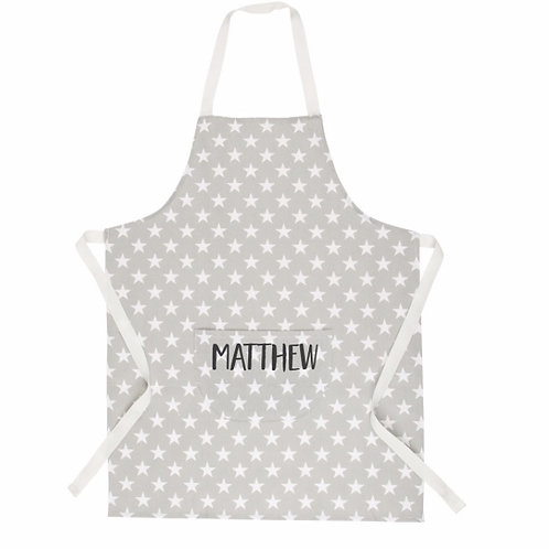 Personalised Cotton Kids Apron