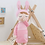 Thumbnail: Meetoo© Plush Pink Bunny – PERSONALISED