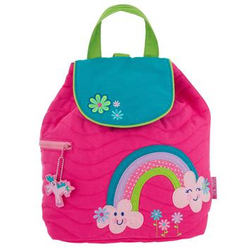 Toddler Rainbow Backpack personalised