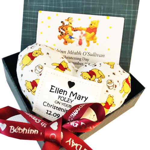 Winnie the Pooh themed Heart Decoration - NEW