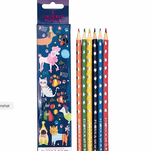 Pets themed Colouring Pencils
