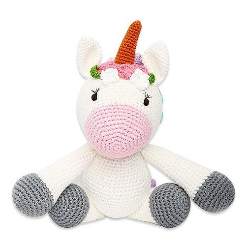 Crochet Uncorn 'Alex' - Handcrafted