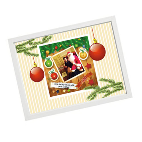 Christmas Photo Frame - Graphic Style