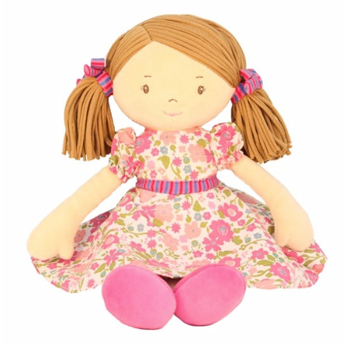 Ragdoll in Pink Floral theme - PERSONALISED