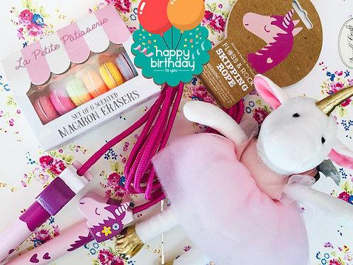 Happy Birthday Little Girl - Luxury Gift Wrap