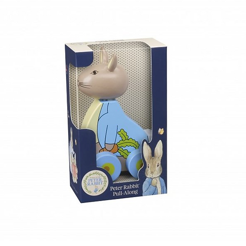 Pull Along Peter Rabbit - Wooden Toy