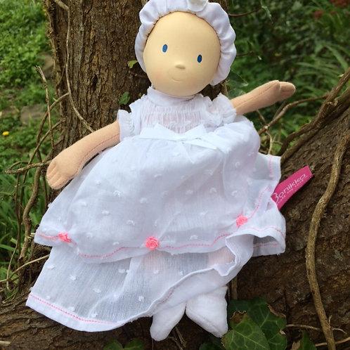 Newborn Baby Doll - Christening Style
