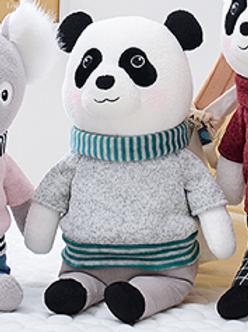 Meetoo© Mr. Panda Doll  – PERSONALISED
