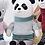 Thumbnail: Meetoo© Mr. Panda Doll  – PERSONALISED