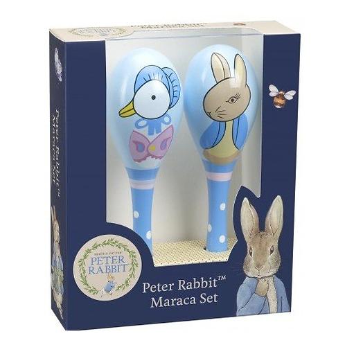 Maracas Boxed Peter Rabbit - Wooden