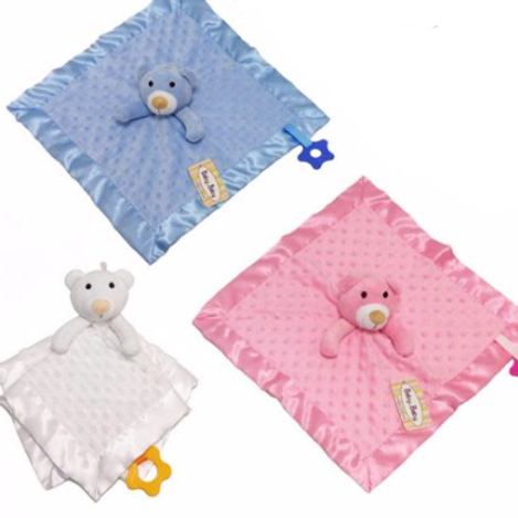 Soft Cosy Baby Comforter - Personalised