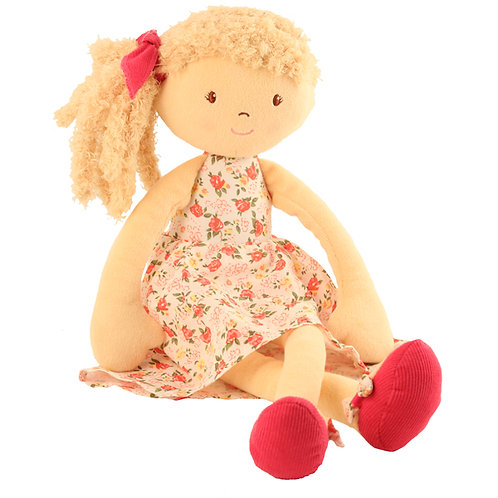 Sweet & Fun Floral Doll - PERSONALISED