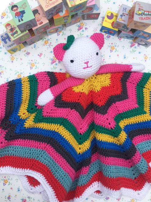 Kitten Comforter / Lovey - HANDMADE