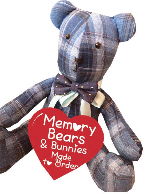 Keepsake Memory Bear - Personalised