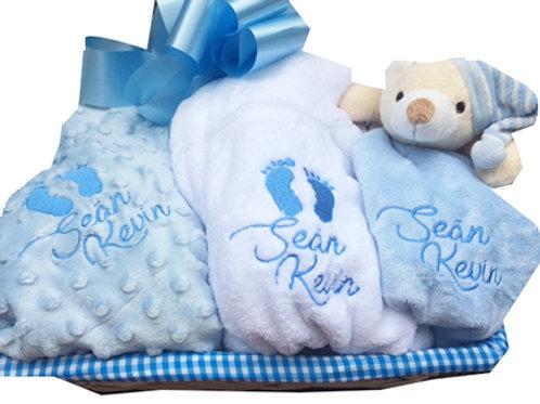 *Bestseller* Baby Gift Basket (Boy)